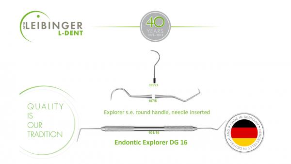 Explorer & Endontic explorer DG
