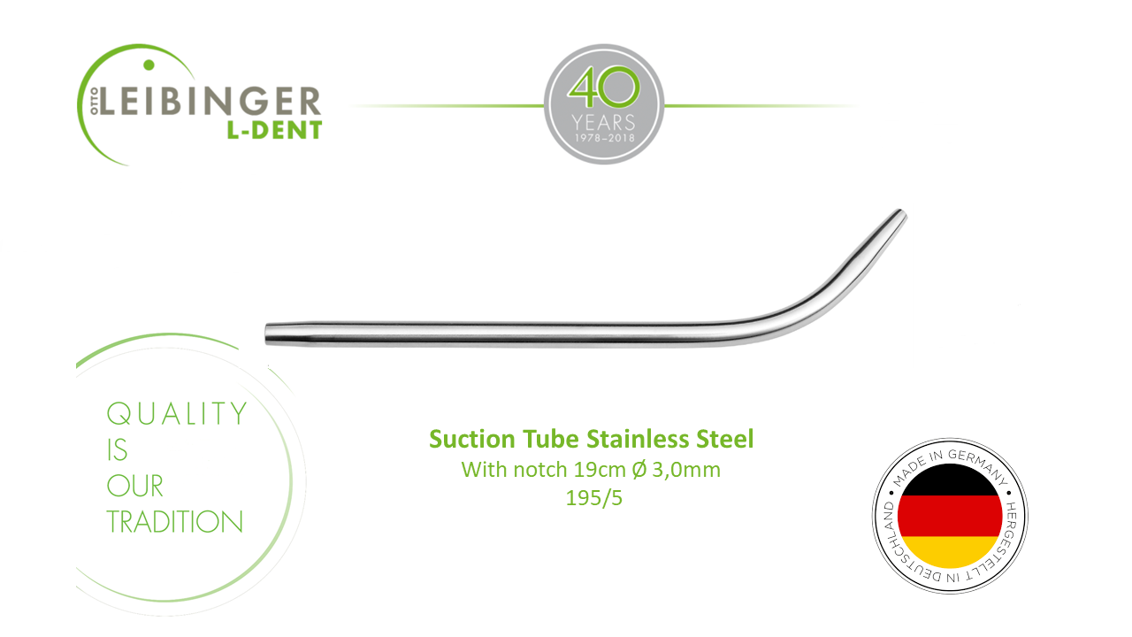 Suction Tube Stainless Steel