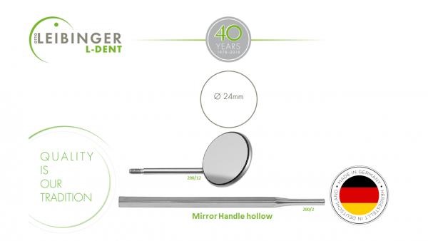 Mirror plane Fig.5 / 24mm & Mirror Handle hollow