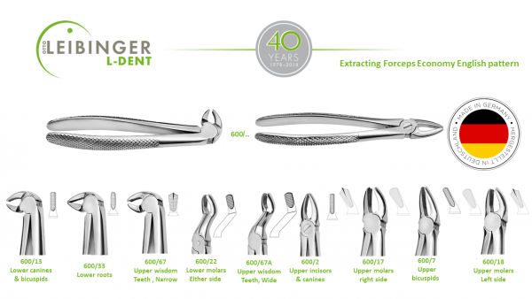 Extracting Forceps Economy English pattern